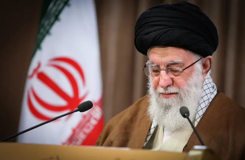 Iran's Supreme Leader Ayatollah Ali Khamenei (photo credit: KHAMENEI.IR)