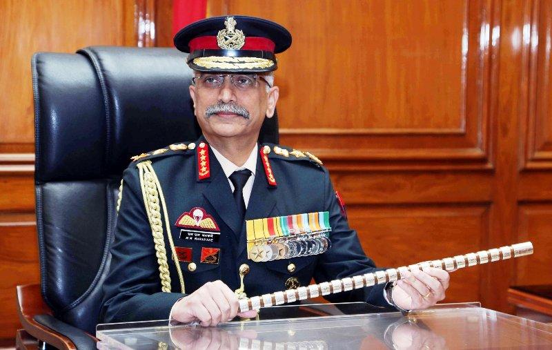 भारतीय सेनाध्यक्ष एमएम नरवाणे